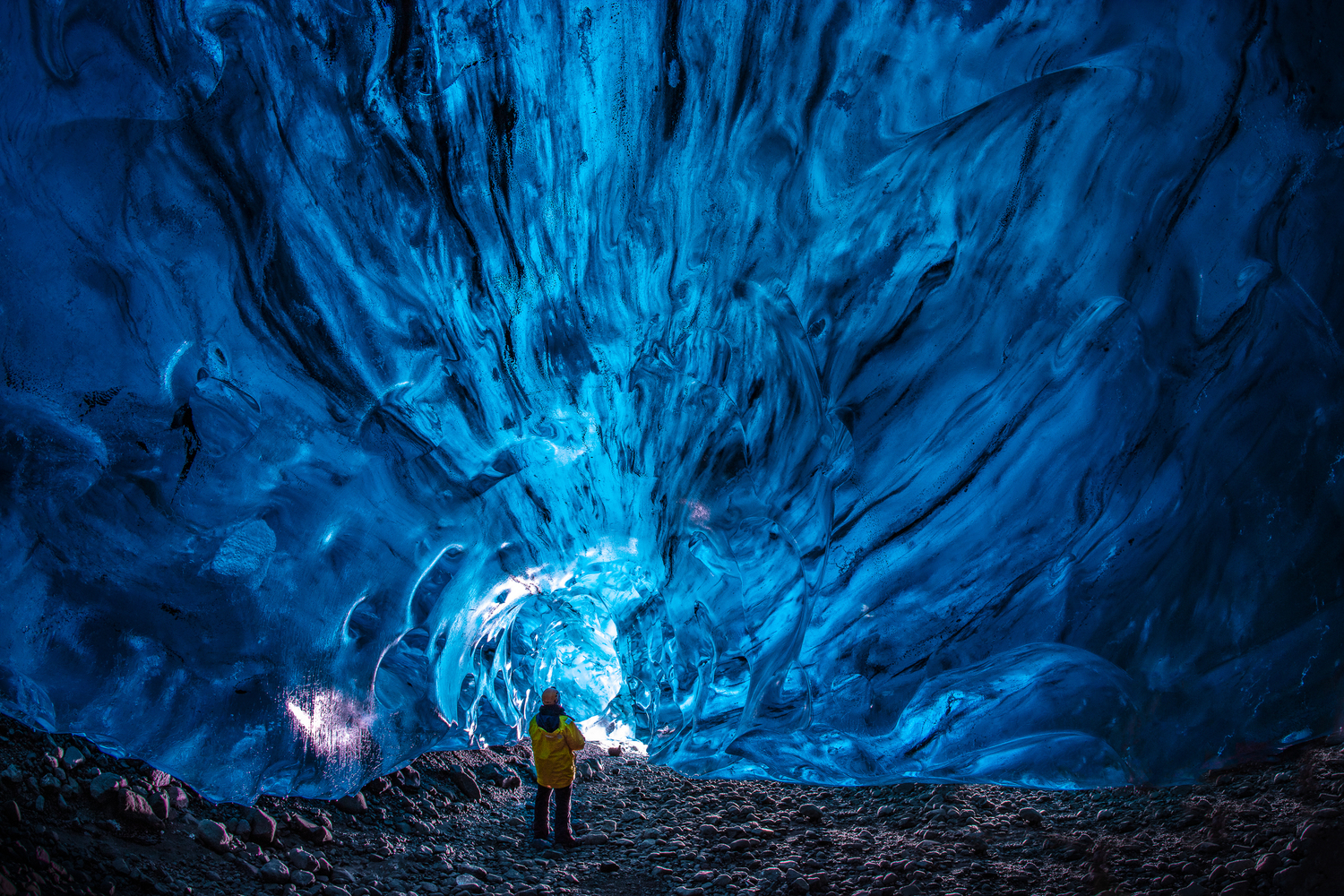 Deep in the Ice Cave
