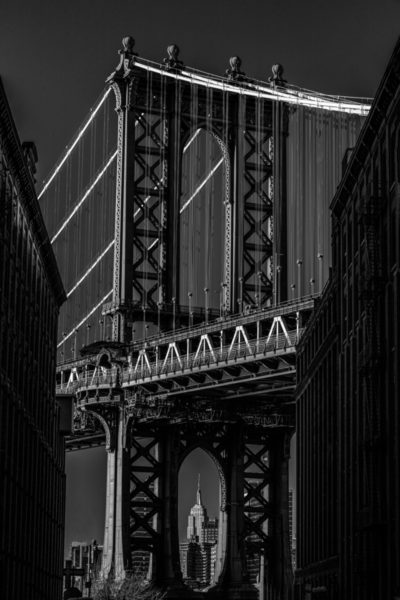 Through the Manhattan Bridge