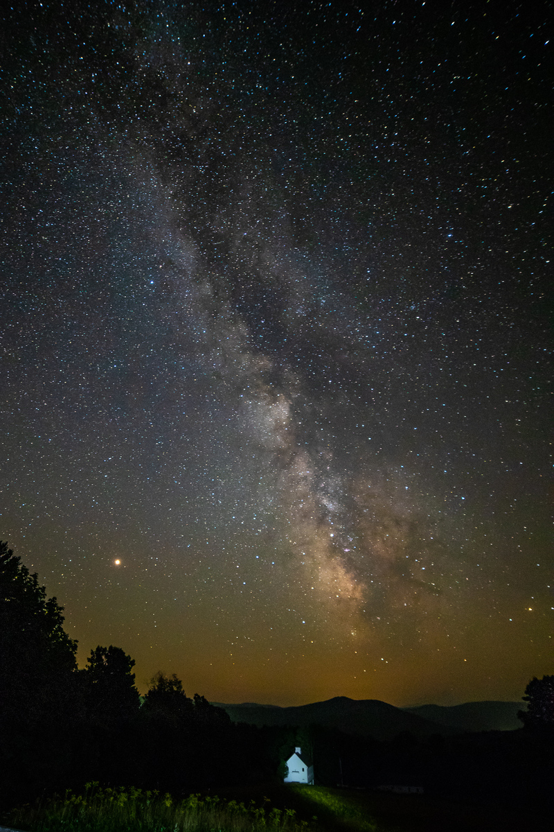 Vermont Milky Way